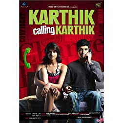Karthik Calling Karthik (New Farhan Akhtar Hindi Film / Bollywood Movie DVD)