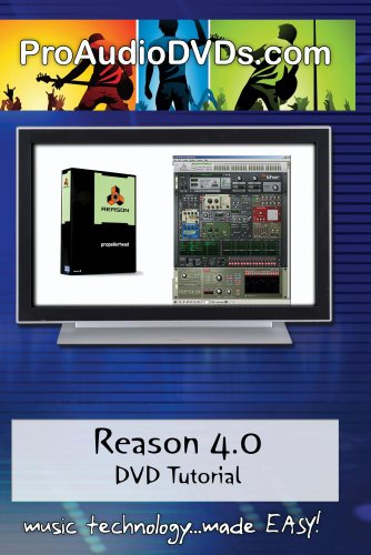 Reason 4.0 DVD Video Training Tutorial with David Wills (over 5hrs!)