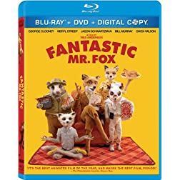 Fantastic Mr. Fox (Three-Disc Blu-ray/DVD Combo + Digital Copy)
