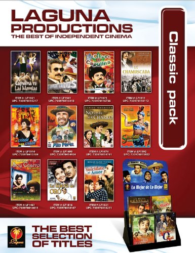 Mexican Classics Pack (200 DVD + Display)
