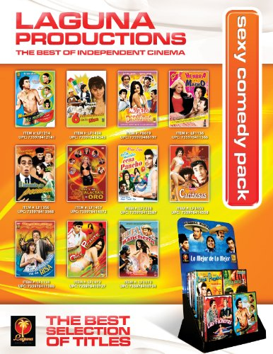 Sexycomedy Pack (200 DVD + Display)