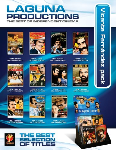 Vicente Fernandez Pack (120 DVD + Display)