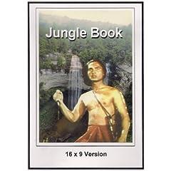Jungle Book 16x9 Widescreen TV.