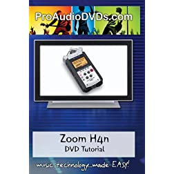 Zoom H4n Handy Portable Digital Recorder DVD Video Training Manual Tutorial