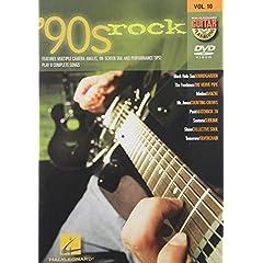 '90s Rock - Guitar Play-Along DVD Volume 10