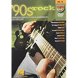 '90s Rock - Guitar Play-Along DVD Volume 10