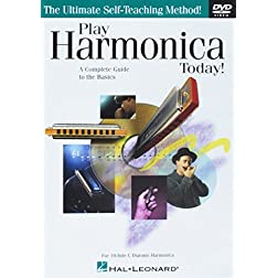 Play Harmonica Today! - For 10-Hole C Diatonic Harmonica