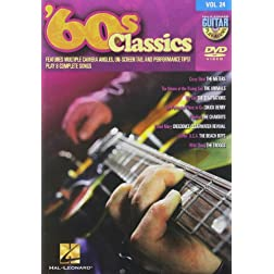 '60s Classics - Guitar Play-Along DVD Volume 24