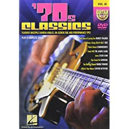 '70s Classics - Guitar Play-Along DVD Volume 26