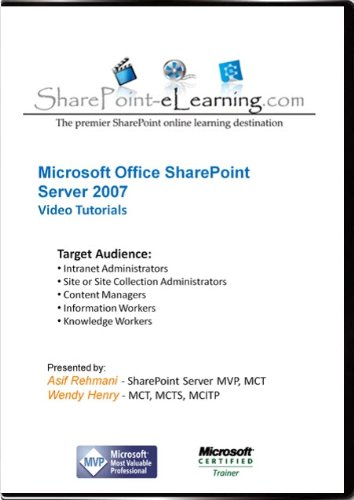 SharePoint 2007 Video Training Tutorials