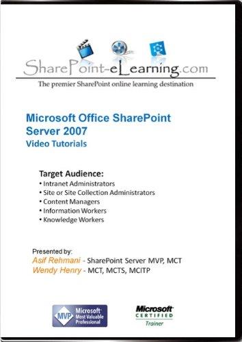 SharePoint 2007 Video Training Tutorials