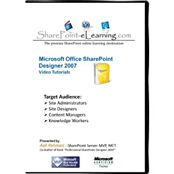 SharePoint Designer 2007 Video Training Tutorials