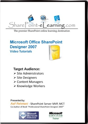 SharePoint Designer 2007 Video Training Tutorials
