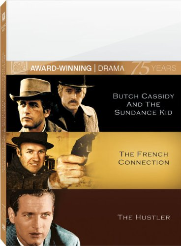 Butch Cassidy & French Connection & Hustler (3pc)