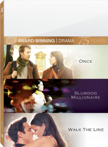 Once & Slumdog Millionaire & Walk the Line (3pc)
