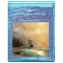 Rachmaninov/ Aivazovsky: Piano Concerto No.3 - Art and Music Expressions Series [7.1 DTS-HD Master Audio/Video Disc] [Blu-ray]