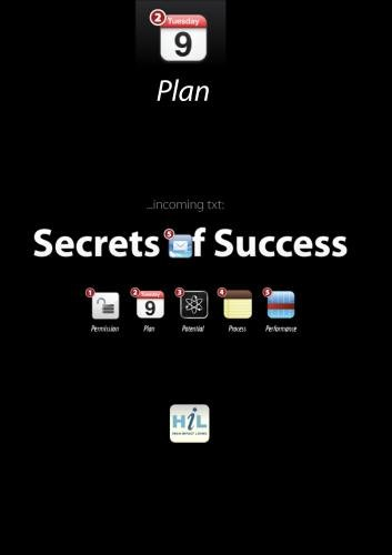 Secrets of Success:  Plan