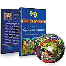 Bike-O-Vision Cycling Journey- Napa & Sonoma Wine Country (Widescreen DVD #5)