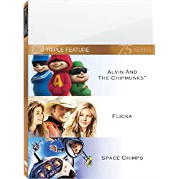 Alvin & Chipmunks & Flicka & Space Chimps (P&S)