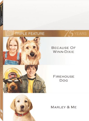 Marley & Me & Firehouse Dog & Because Winn Dixie
