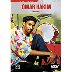 Omar Hakim -- Complete (DVD)