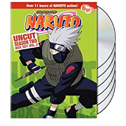 Naruto Uncut Season 2 Vol. 2 Box Set