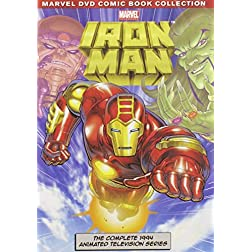 Marvel Iron Man: The Complete Animated Series - 3-Disc DVD