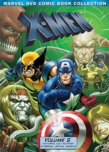 X-Men, Volume Five (Marvel DVD Comic Book Collection)