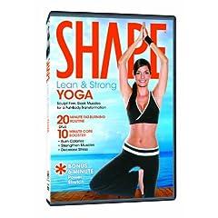 Shape: Lean & Strong Yoga