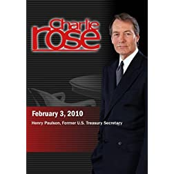 Charlie Rose -Henry Paulson (February 3, 2010)