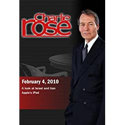Charlie Rose - A look at Israel and Iran / Apple's iPad (February 4, 2010)