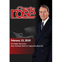 Charlie Rose -Civil Rights Movement / Christoph Waltz (February 15, 2010)