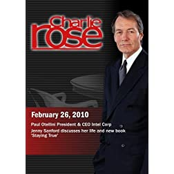 Charlie Rose - Paul Otellini / Jenny Sanford  (February 26, 2010)
