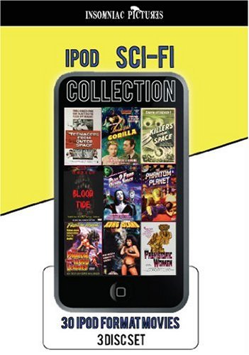 ipod SCI- FI collection - 30 ipod / iphone ready movies