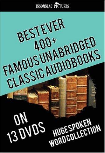 Best Ever 400+ Famous UNABRIDGED Classic AudioBooks - 13 DVDs