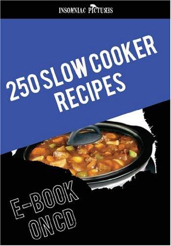250 slow cooker recipes - E-BOOK CD