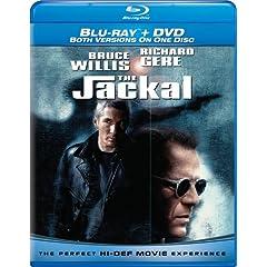 The Jackal (Combo Blu-ray and Standard DVD) [Blu-ray]