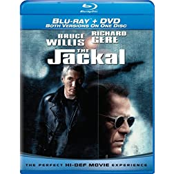 The Jackal (Combo Blu-ray and Standard DVD) [Blu-ray]