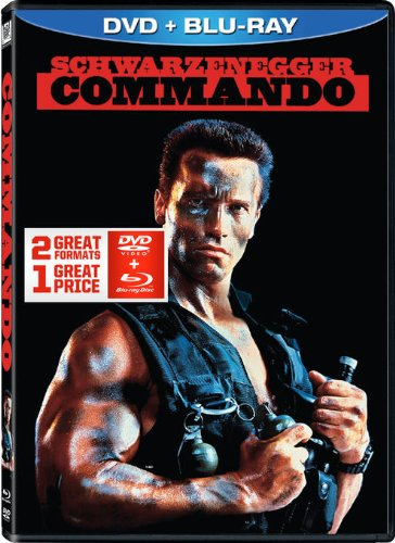 Commando DVD + Blu-ray Combo