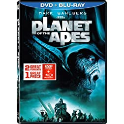 Planet of the Apes (2001) DVD + Blu-ray Combo