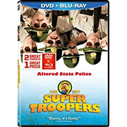 Super Troopers DVD + Blu-ray Combo