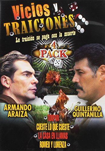 Vicios Y Traiciones 4 Pack (3pc) (Spanish)