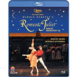 Prokofiev - Romeo & Juliet [Blu-ray] / Paris Opera Ballet, Manuel Legris, Monique Loudieres, Lionel Delanoe