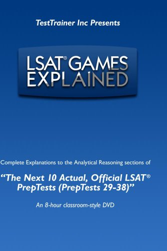 LSAT(r) Games Explained