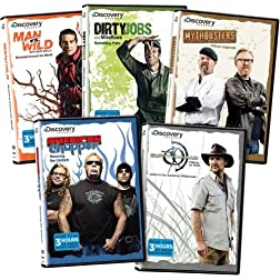 Men of Discovery (Man vs. Wild, Mythbusters, American Chopper, Dirty Jobs, Survivorman)