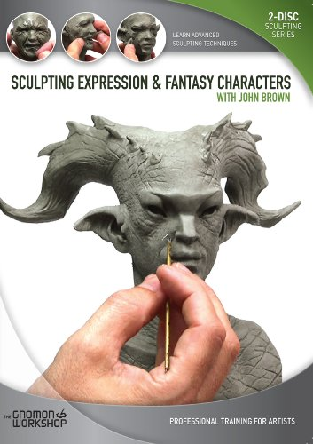 Sculpting Expression and Fantasy Character