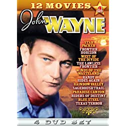 Wayne, John Triple Feature Collection (4-DVD)