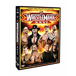 WWE: Wrestlemania 26 (Collector's Edition)