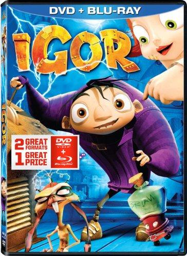Igor DVD + Blu-ray Combo