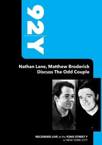 92Y-Nathan Lane, Matthew Broderick Discuss The Odd Couple (October 30, 2005)